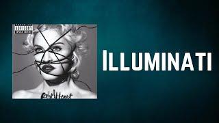 Madonna - Illuminati (Lyrics)