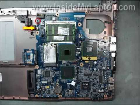 how to disassemble hp 530 notebook pc youtube rh youtube com HP Pavilion Laptop Manual HP Mini Laptop Manual