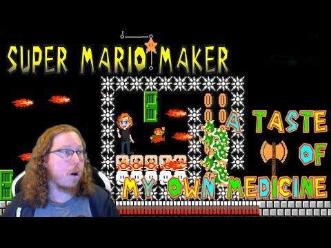 Super Mario Maker: A Taste Of My Own Medicine