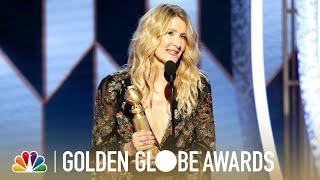 Laura Dern Wins Best Supporting Actress - 2020 Golden Globes