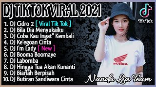 DJ TIKTOK TERBARU 2021 - DJ CIDRO 2 FULL BASS TIK TOK VIRAL REMIX TERBARU 2021