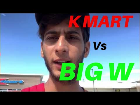 K MART & BIG W | Which Is Best For Shopping ?
