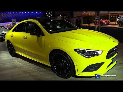 2020 Mercedes Benz CLA 180 Sport Edition - Exterior Interior Walkaround   2020 Brussels Auto Show