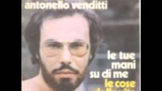 Le Tue Mani Su Di Me (Live), Antonello Venditti