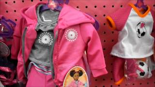 New items at  My life as a doll  section at Walmart