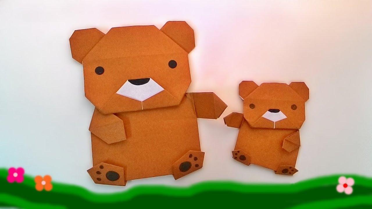 クマ 折り紙 【折り紙】動物の折り方15種類!平面・立体の簡単な折り方は?【動画有り】