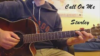 """Guitar-Lesson: """"Call On Me"""" - Starley / English+Deutsch / EASY"""