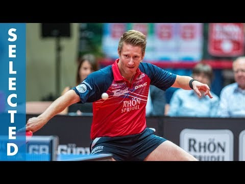 Ruwen Filus vs Patrick Franziska (TTBL Selected)