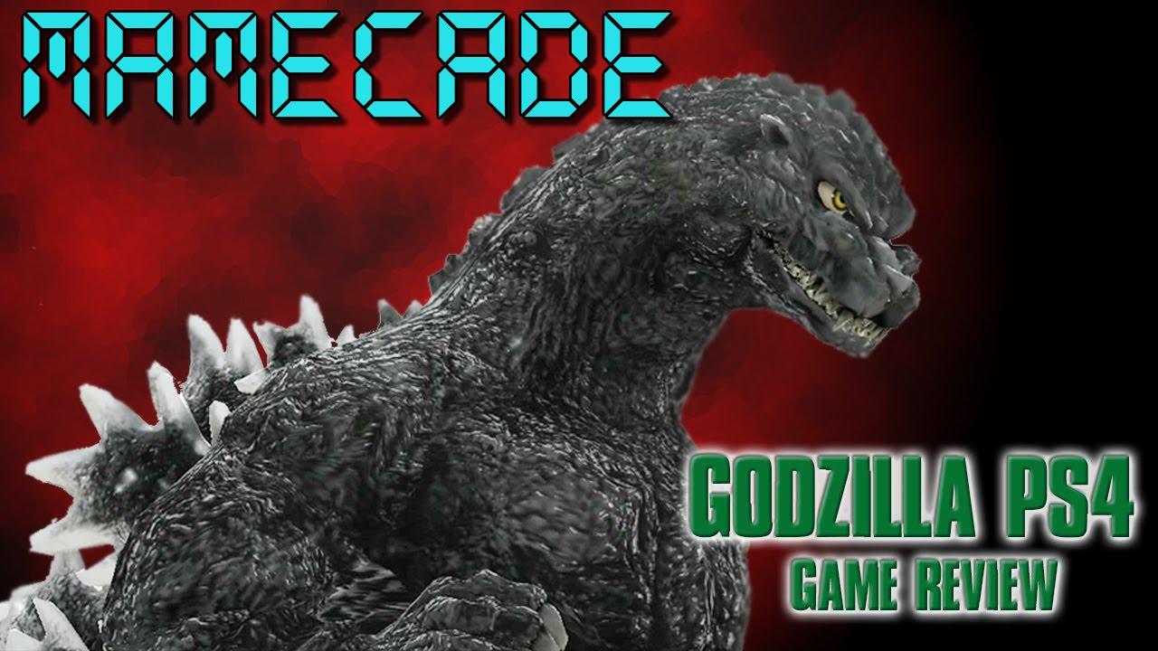 Godzilla PS4 Review - MAMECADE