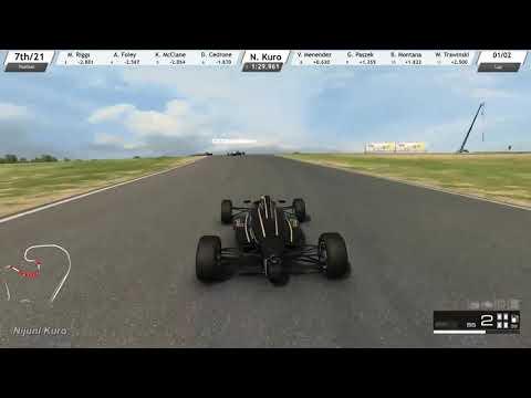 RaceRoom - Totally Legit Win (Formula Junior)