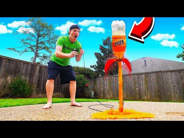 making-a-soda-rocket-launcher-exploding-bottle