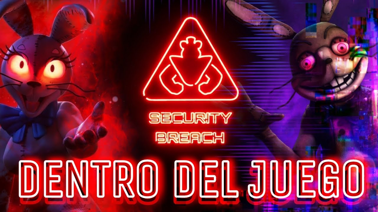 FNAF Security Breach - Dentro del juego!! [Cap.#3 Glitch] Español latino - F.M.