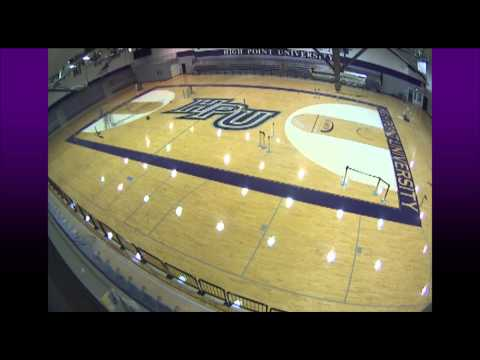 Time Lapse: Millis Center floor refinished