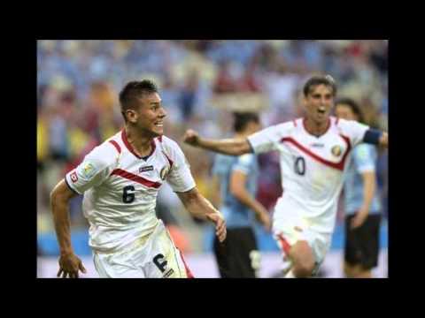 Costarica derrota por 3-1 a Uruguay en Brasil 2014. Narracion 2do. tiempo
