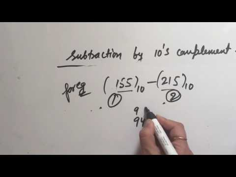 10s complement subtraction
