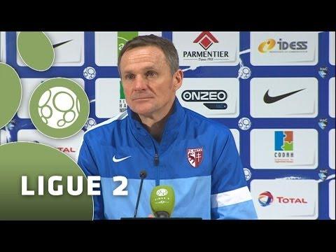 Conférence de presse Havre AC - FC Metz (2-2) - 2013/2014
