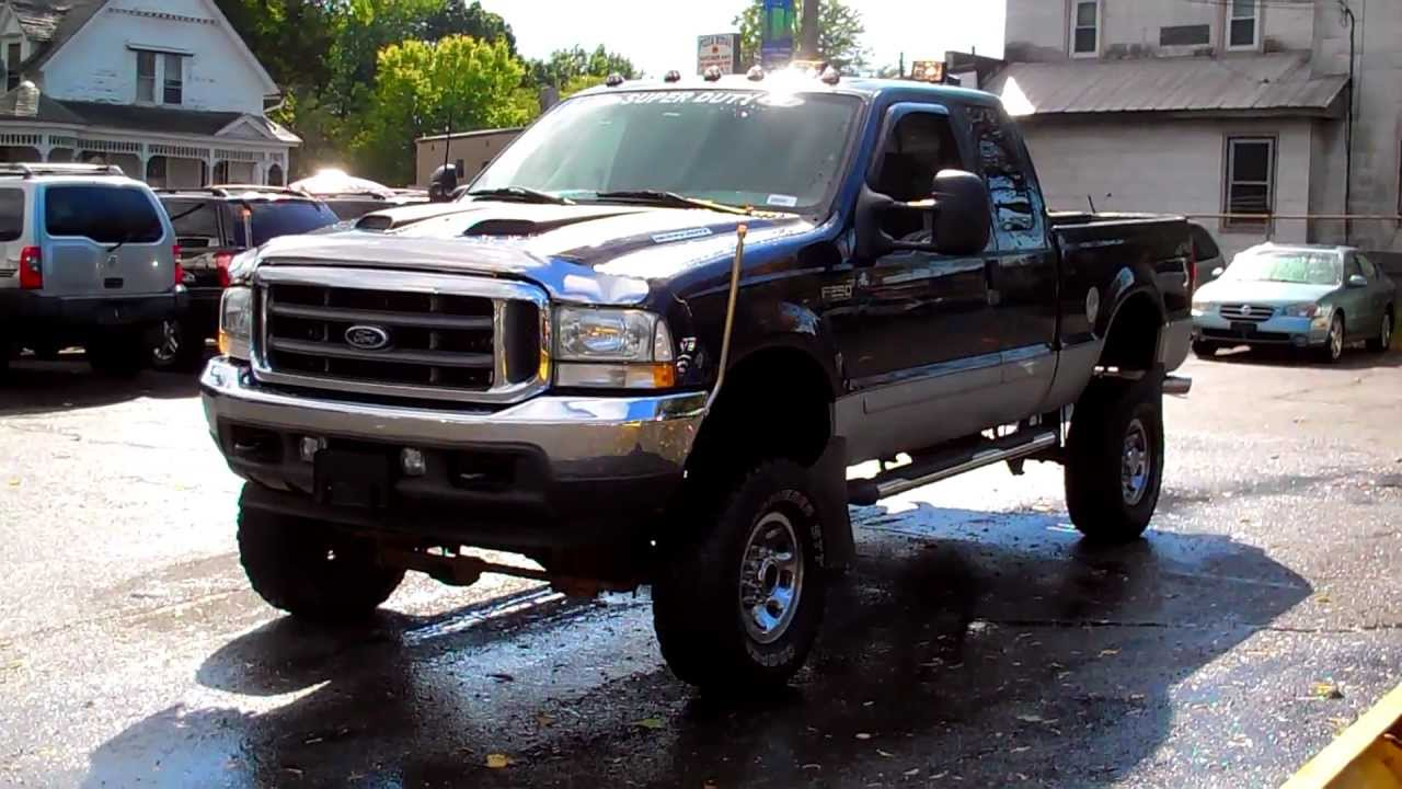 2002 ford super duty f 250 xlt 4wd extended cab 4dr big lift kit with extras youtube [ 1280 x 720 Pixel ]