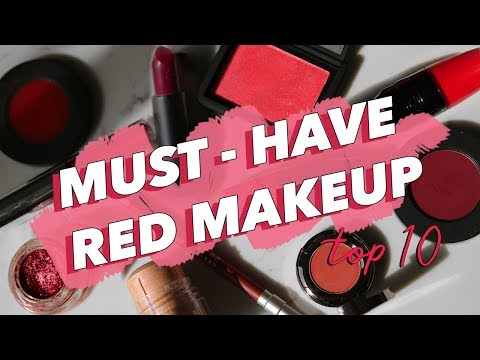 10 Must-Have RED Makeup Products | COLOR CAPSULE COLLECTION ? thumbnail