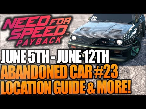 abandoned car in need for speed payback