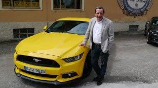 Михаил Подорожанский и новый Ford Mustang GT