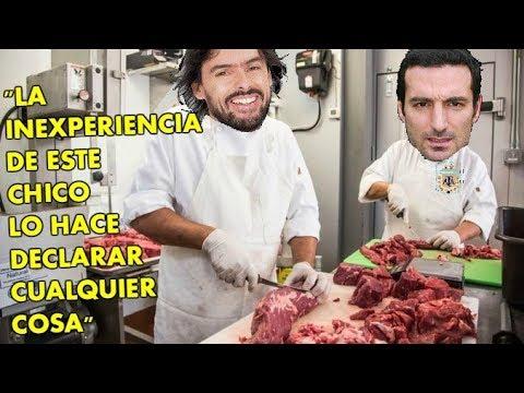La carnicería de Closs contra el joven inexperto Scaloni    Mas esperado que el aguinaldo