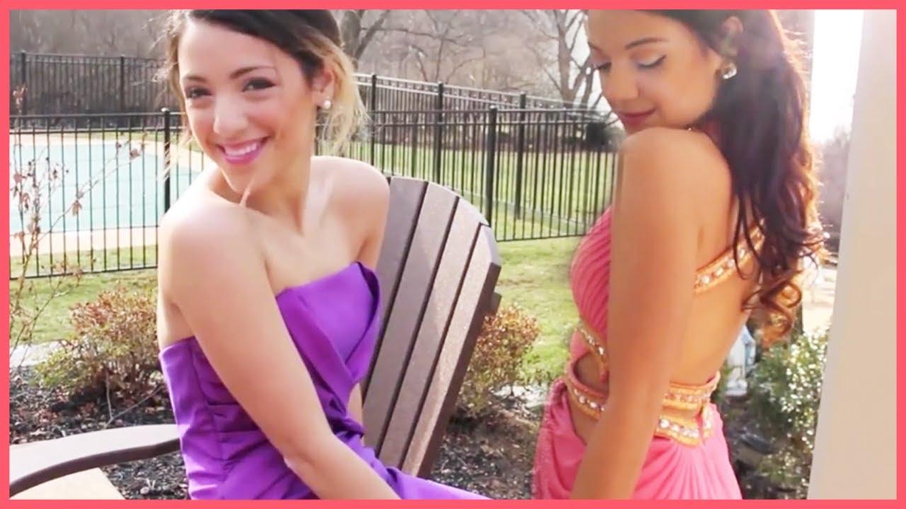Prom Style With Niki And Gabi Beauty! - YouTube
