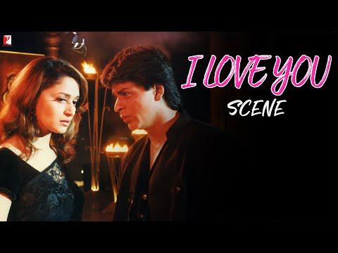 Scene: Dil To Pagal Hai | I Love You | Shah Rukh Khan | Madhuri Dixit