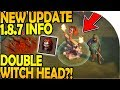 DOUBLE WITCH HEAD?! - NEW UPDATE 1.8.7 INFO - Last Day On Earth Survival Update 1.8.6