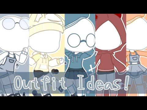 Girls Hair And Outfit Ideas Gacha Club Youtube