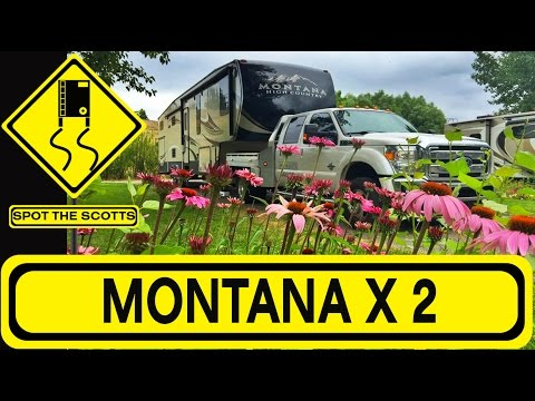 SpotTheScotts: Road Trip from Washington to Montana! ~RV Life! {#317}
