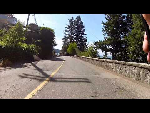 Marine Drive Bike Ride, West Vancouver, BC