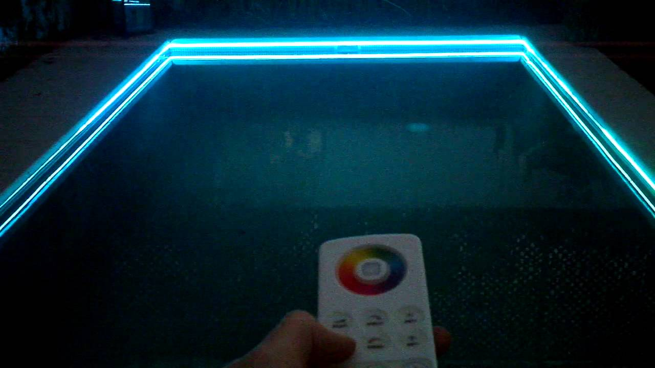 SS HOUSE - Swimming Pool Lighting - LED - YouTube