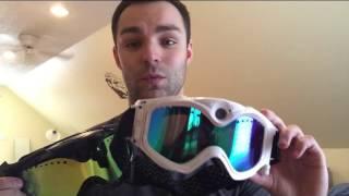 Elite Technology Crossfire Snowboarding Ski Camera Goggle