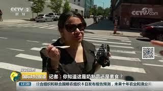 [国际财经报道]投资消费 美国纽约流行素食冰淇淋 纯植物打造全新口味  CCTV财经