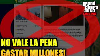 GTA 5 ONLINE DLC FINANZAS Y CRIMEN CUIDADO NO VALE LA PENA GASTAR TANTOS MILLONES...