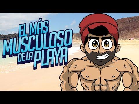 EL MÁS MUSCULOSO DE LA PLAYA ⭐️ Douchebag Beach Club | iTownGamePlay