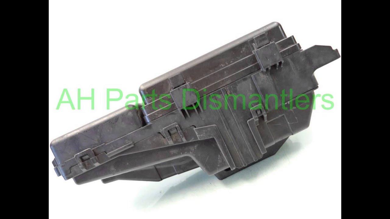 2008 acura rl engine fuse box 38250 sja a01. Black Bedroom Furniture Sets. Home Design Ideas