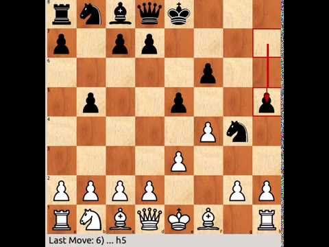 Atomic Chess: 1.Nf3 f6 2.Nd4 part 4
