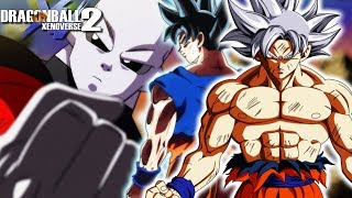 MASTERED ULTRA INSTINCT VS JIREN FULL POWER! Goku Vs The Multiverse | Dragon Ball Xenoverse 2 Mods thumbnail