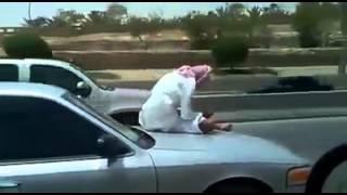 saudi arabs stunt on car no one can do like this shaikh