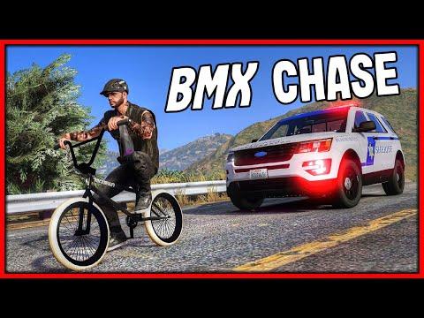 GTA 5 Roleplay - Trolling Cops On BMX Bikes | RedlineRP #836