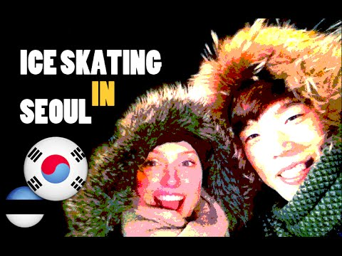 Squirrel in Korea #5: Ice skating in Seoul