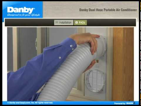 Danby Portable Air Conditioner Installation Guide How To