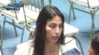 Dip. Unidad denunciaron en Fiscalía y otras instancias violaciones a DD.HH. por parte del régimen