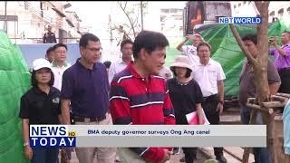 BMA deputy governor surveys Ong Ang canal