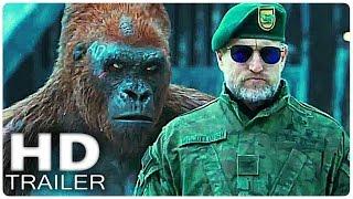 Планета обезьян Война Русский трейлер 2 (2017)