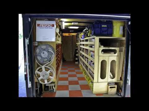 PAULK'S TOOL TRAILER (Rolling tool box)