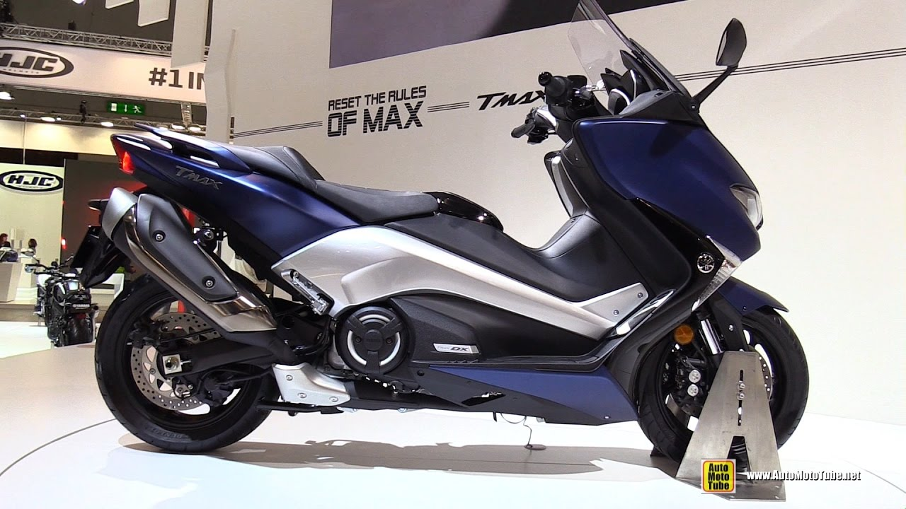 2017 yamaha tmax 530 scooter walkaround 2016 eicma. Black Bedroom Furniture Sets. Home Design Ideas
