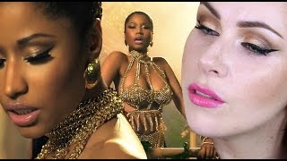 Nicki Minaj - Anaconda Makeup Tutorial