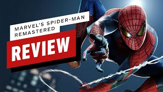 Marvel's Spider-Man Remastered (PS5) Review (Video Game Video Review)